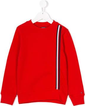 Tommy Hilfiger Junior stripe detail sweatshirt