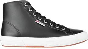 Superga Leather Hi Top Sneaker