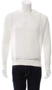 R 13 Open Knit Crew Neck Sweater w/ Tags