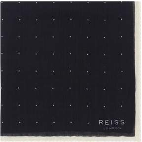 Reiss Cinta Spotted Pocket Square