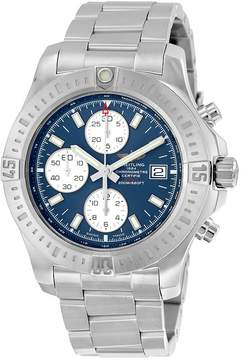 Breitling Colt Chronograph Automatic Mariner Blue Dial Stainless Steel Men's Watch
