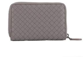Bottega Veneta Women's Purple Leather Wallet.