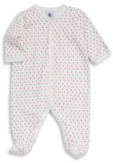 Petit Bateau Baby's Luxe Cotton Footie