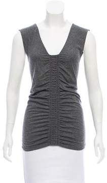 Strenesse Sleeveless Ruched Top