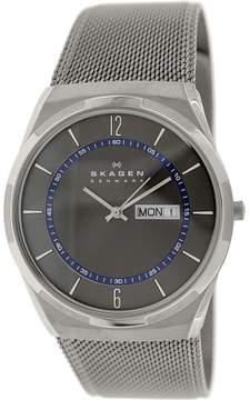 Skagen Men's Melbye SKW6078 Grey Stainless-Steel Quartz Dress Watch
