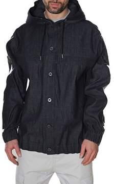 Diesel Black Gold Men's Blue Cotton Outerwear Jacket.