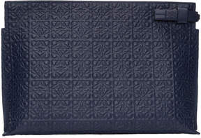 Loewe Navy Anagram T Pouch