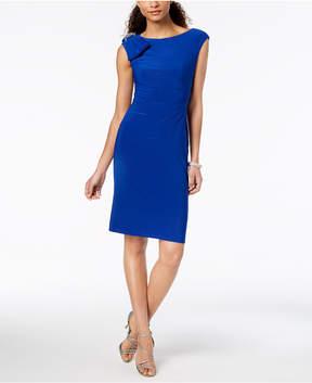 Jessica Howard Embellished-Bow Sheath Dress