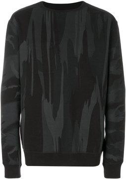 MHI camouflage print sweatshirt