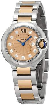 Cartier Ballon Bleu de Silver Dial Ladies Watch