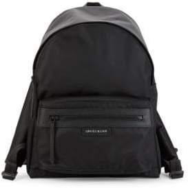 Longchamp Classic Logo Backpack