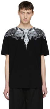 Marcelo Burlon County of Milan Black Animal Wing T-Shirt