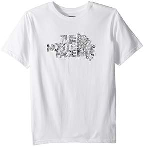 The North Face Kids Short Sleeve Graphic Tee Boy's Clothing