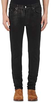 Amiri Men's Stack Waxed Slim Jeans