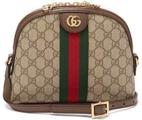 Gucci Ophidia Gg Supreme Cross Body Bag - Womens - Brown Multi
