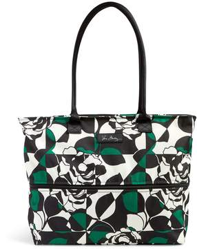Vera Bradley Lighten Up Expandable Travel Tote - IMPERIAL ROSE - STYLE