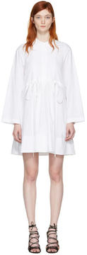 Chloé White Poplin Shirt Dress
