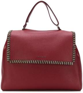 Orciani oversized chain trim tote a
