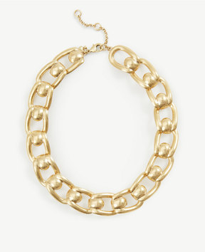 Ann Taylor Metal Link Necklace