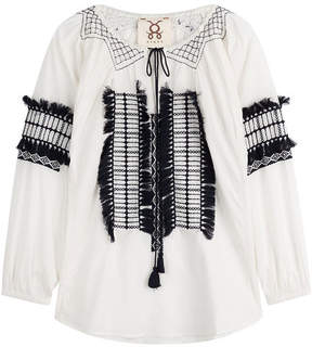 Figue Tasmeen Embroidered Cotton Tunic