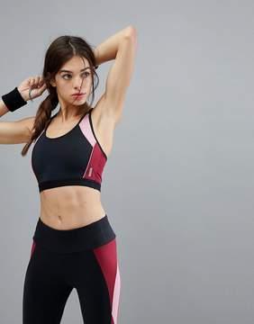 Esprit Color Block Gym Crop Top