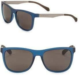 HUGO 55MM Round Sunglasses