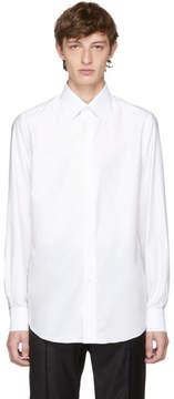 Brioni White Slim-Fit Dress Shirt