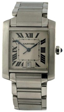 Cartier Tank Francaise Stainless Steel 32mm Watch