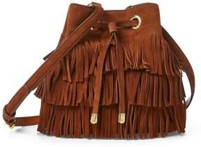Lauren Ralph Lauren Suede Debby Drawstring Bag