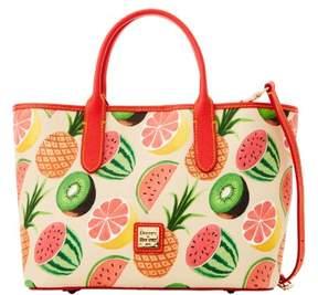 Dooney & Bourke Ambrosia Brielle Top Handle Bag - BEIGE - STYLE