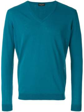 Roberto Collina V-neck fitted sweater