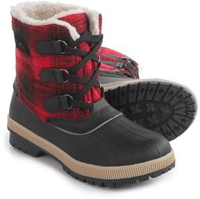 Khombu Telluride Winter Boots - Insulated, Fleece Lined (For Women)