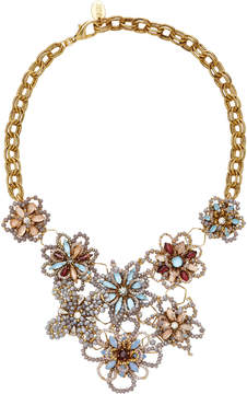 Erickson Beamon Wild Flower Crystal Necklace