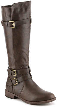 Journee Collection Women's Bite Wide Calf Riding Boot