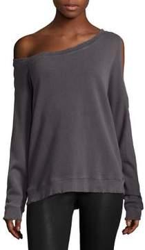 RtA Willow Cotton Cutout Sweatshirt
