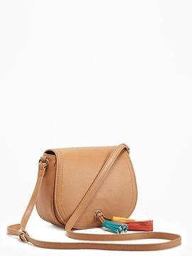Tassel Saddle Bag for Women