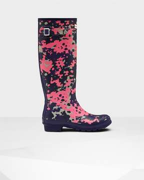Hunter Women's Original Tall Flecktarn Spacepop Rain Boots