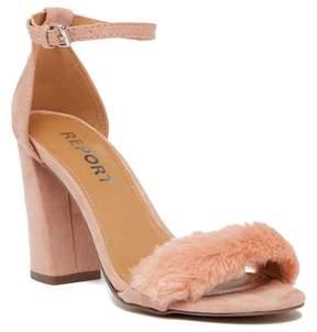 Report Mirren Faux Fur Sandal