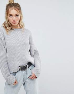 Cheap Monday Ribbed Cropped Knit