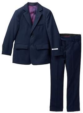 Isaac Mizrahi Wool Blend 2-Piece Suit - Husky Sizes Available (Toddler, Little Boys, Big Boys)