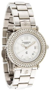 Charriol Diamond Columbus Watch