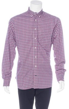 Gitman Brothers Plaid Button-Up Shirt