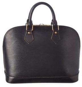 Louis Vuitton Noir Epi Leather Alma Pm. - NO COLOR - STYLE