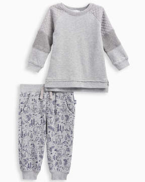 Splendid Baby Boy Mixed Fabric Pant Set