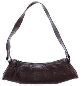 Tod's Python Barrel Bag