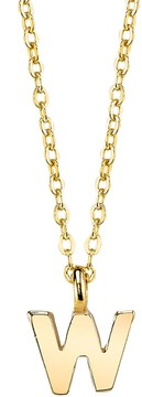 1928 Initial Pendant Necklace