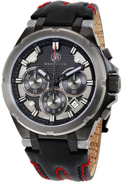 Co Brooklyn Watch Brooklyn Malcolm Sports Swiss Quartz Choronograph Watch