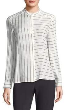 Peserico Long-Sleeve Stripe Shirt