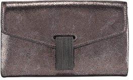 Brunello Cucinelli City Metallic Leather Crossbody Bag