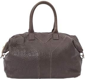 Saint Laurent Easy leather handbag - BROWN - STYLE